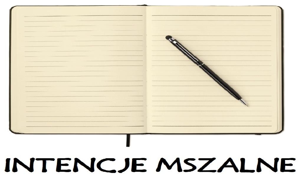 INTENCJE MSZALNE 25 – 31 I 2021r.